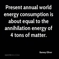 Present annual world 