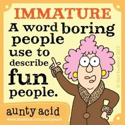 IMMATURE 