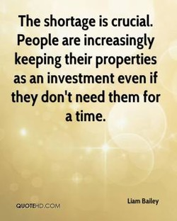 The shortage is crucial.