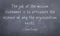 The job the mission 