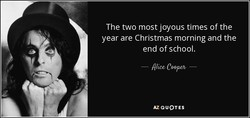 The two most joyous times of the 