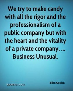 We try to make candy 