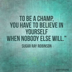 TO BE CHAMP, 