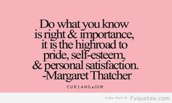 Do whatyou know 