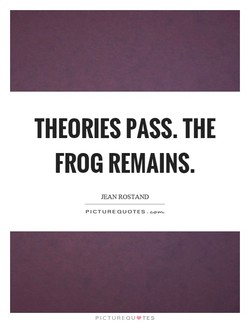 THEORIES PASS. THE 