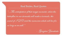 Real Brides, Real Quotes 
