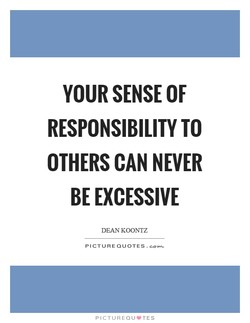 YOUR SENSE OF 