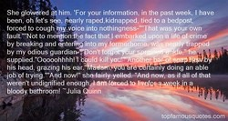 She gloWered at him. 'For your information, in the past week, I have 