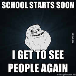 SCHOOL STARTS SOON 