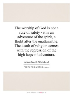 The worship of God is not a 