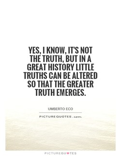 YES, I KNOW, IT'S NOT 
