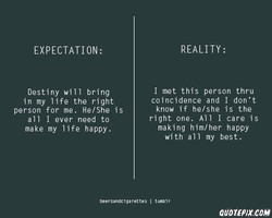 EXPECTATION: 