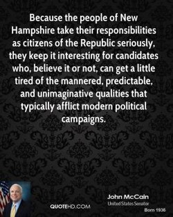 Because the people of New 