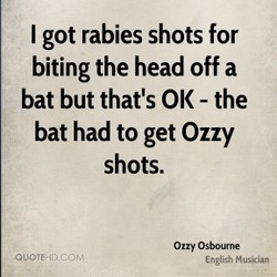 I got rabies shots for 