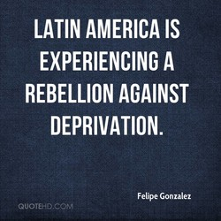 LATIN AMERICA IS 