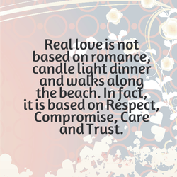 Real love is not 