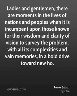 Ladies and gentlemen, there 