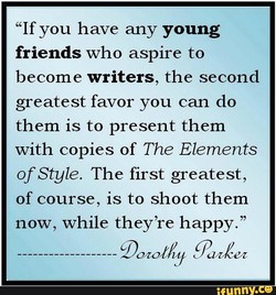 If you have any young 
