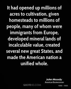 It had opened up millions of 