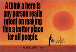 A think a herois 