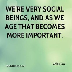 WE'RE VERY SOCIAL 