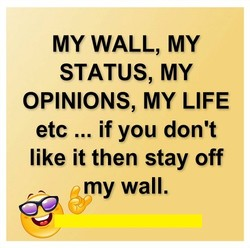 MY WALL, MY 