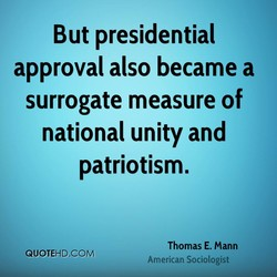 But presidential 