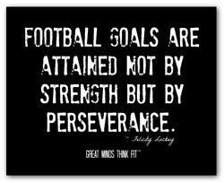 FOOTBALL GOALS ARE 