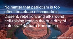 No matter that patriotism is too 