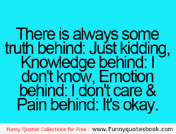 There is always some 