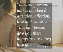 The wrong persona 