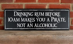 DRINRNG RUM BEFORE 
