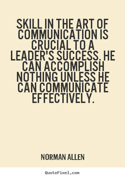 SKILL IN THE ART OF 