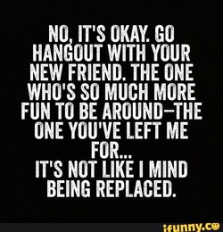 NO IT'S OKAY. GO 