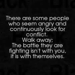 There are some people 