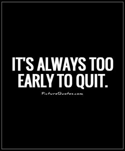 IT'S ALWAYS TOO 