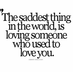 'The saddestthing 