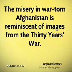 The misery in war-torn 