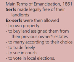 Main Terms of Emancipation, 1861 