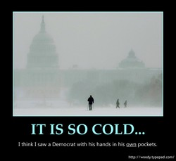 IT IS SO COLD... 