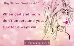 Big Sister Quotes #60 