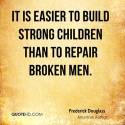 IT IS EASIER TO BUILD 