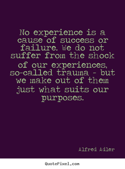 No experience is a 