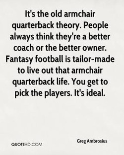 It's the old armchair 