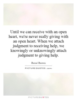 Until we can receive with an open 