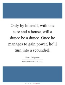 Only by himself, with one 
