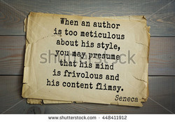 When an author 