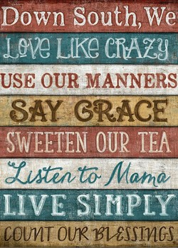 pown South, We 