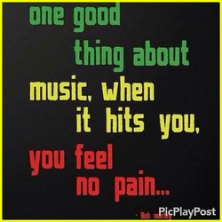 one good 