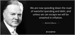 We are now speeding down the road 